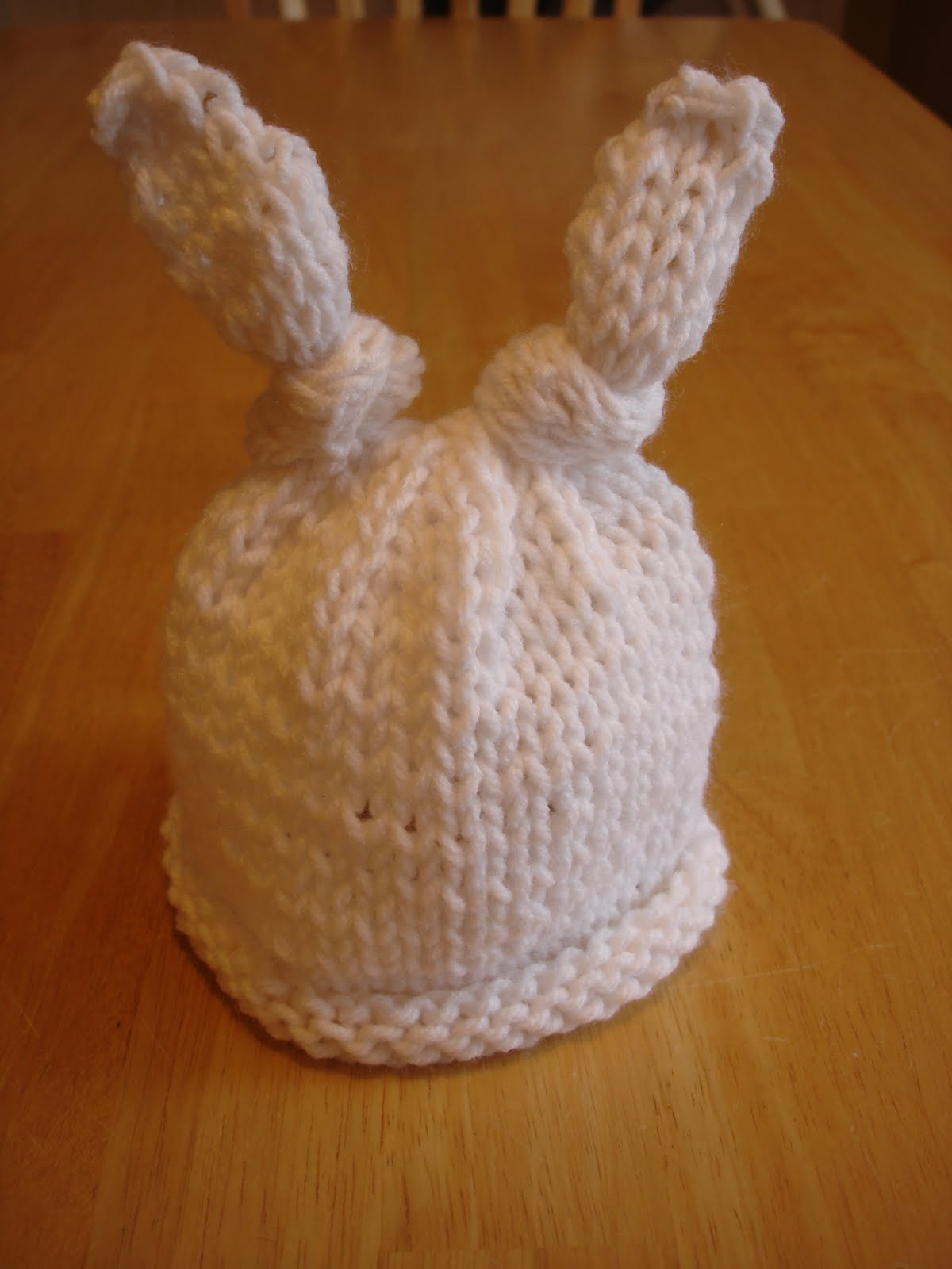 Free Knitting Patterns For Hats Uk Fiber Flux Fo Ba Bunny Hat For Charity