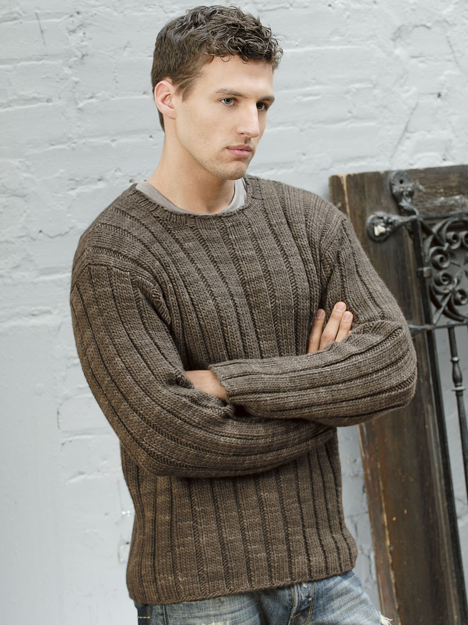 Free Knitting Patterns For Men's Sweaters 14 Best Photos Of Free Sweater Patterns For Men Men Knit Sweater