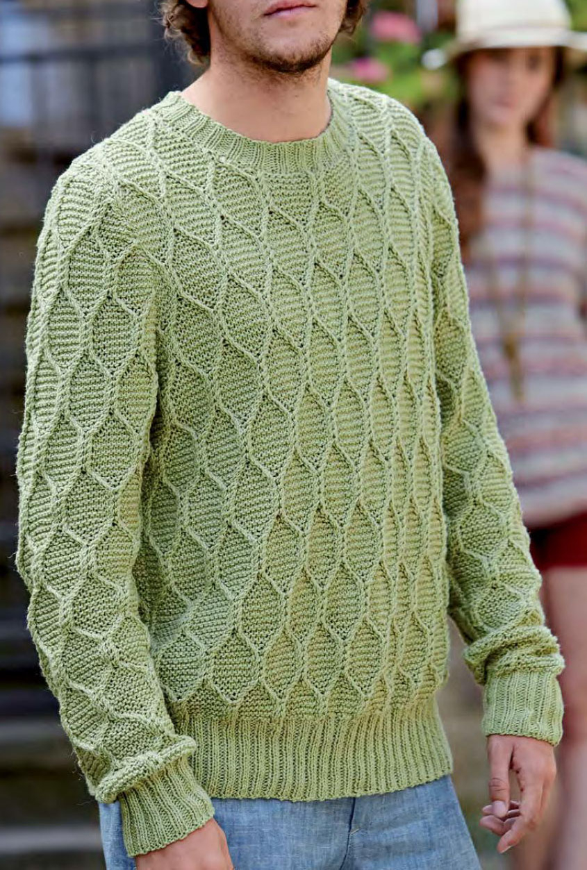 Free Knitting Patterns For Men's Sweaters Mens Pullover Knitting Pattern