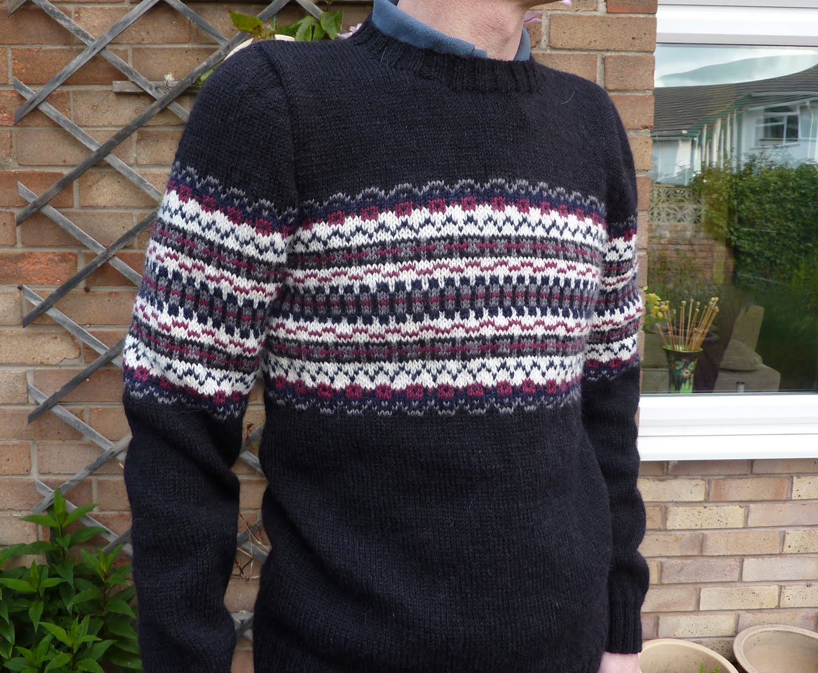 Free Knitting Patterns For Men's Sweaters Yellow Pink And Sparkly June 2011