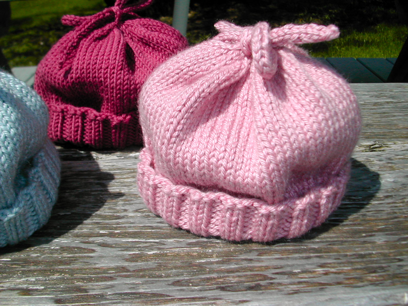 Free Knitting Patterns For Newborn Hats Bananaheads Ba Beanie Mrs Qs Knitting Blog