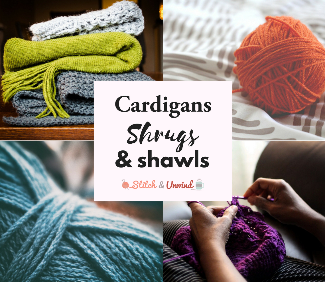 Free Knitting Patterns For Shrugs And Wraps Free Patterns Cardigans Shrugs And Shawls Oh My Stitch And Unwind
