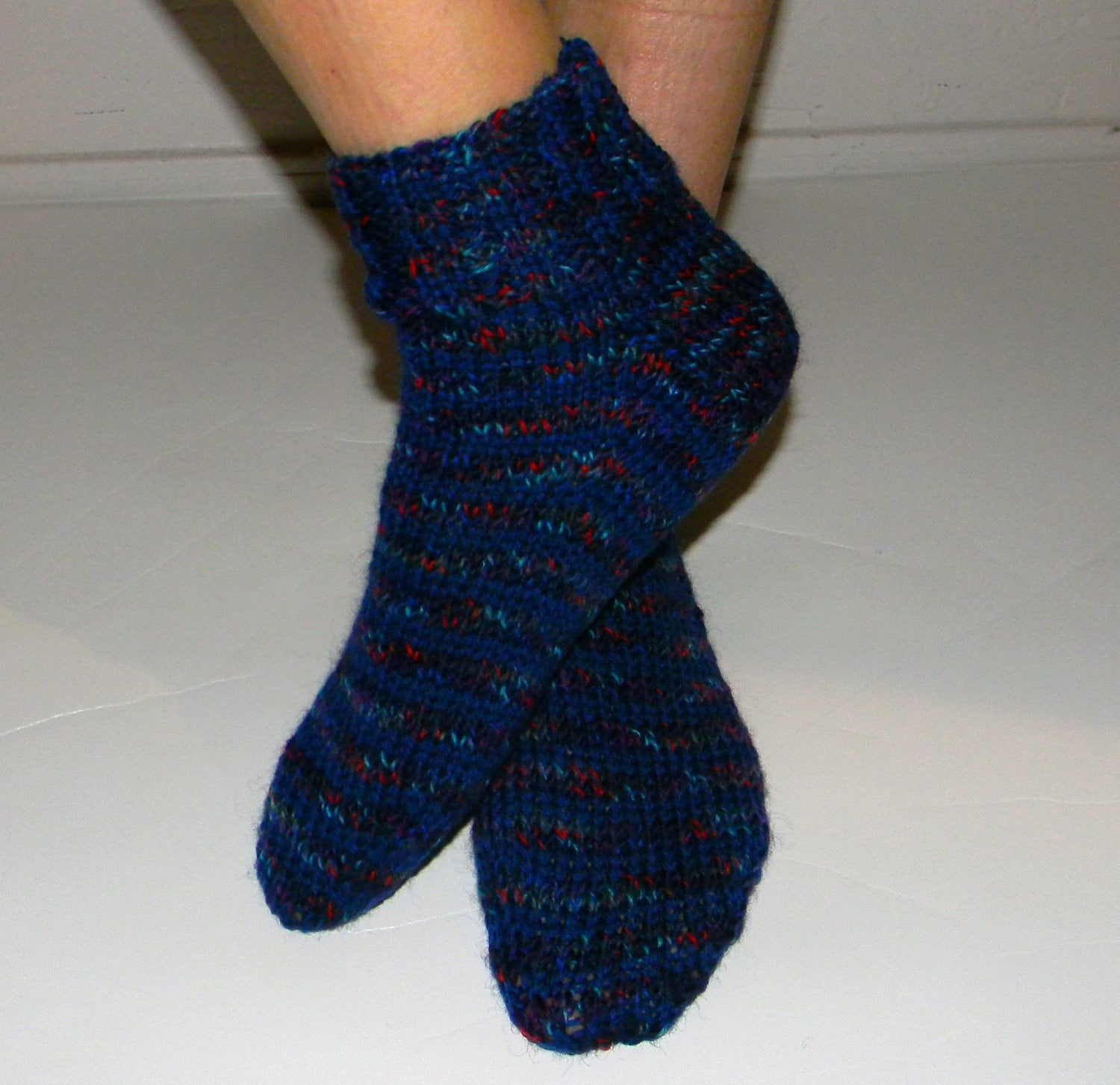 Free Knitting Patterns For Socks On Four Needles Straight Needle Sock Pattern