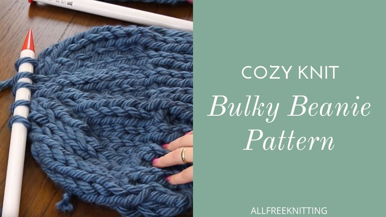 Free Knitting Patterns For Super Chunky Yarn 52 Bulky Yarn Knitting Patterns Allfreeknitting