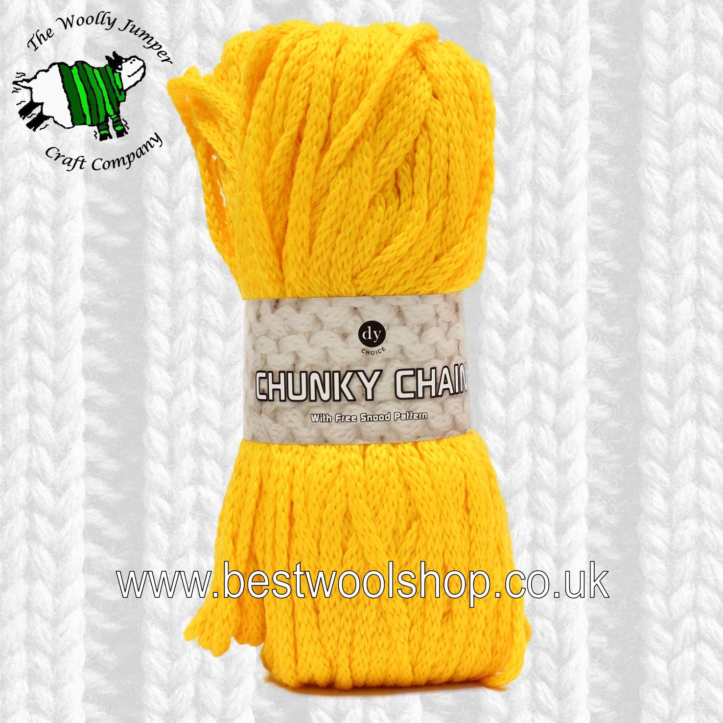 Free Knitting Patterns For Super Chunky Yarn 605 Sunshine Dy Choice Chunky Chain Super Chunky Knitting Crochet Yarn From Designer Yarns With Free Snood Knitting Pattern