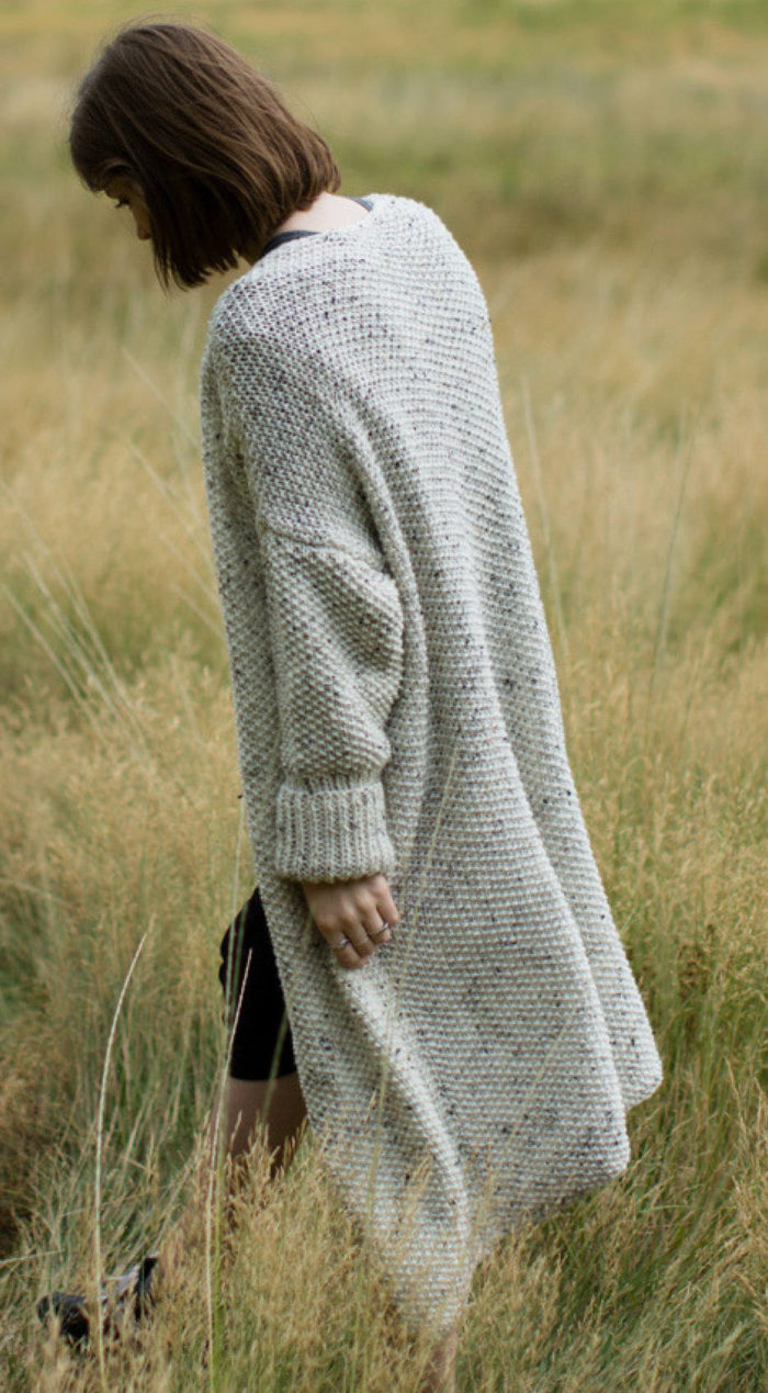 Free Knitting Patterns For Sweater Coats Easy Cardigan Knitting Patterns In The Loop Knitting