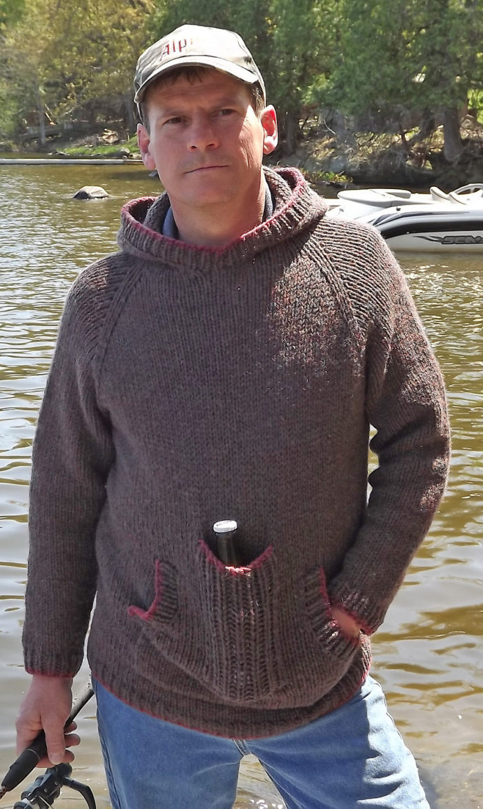 Free Knitting Patterns For Sweater Coats Mens Sweater Knitting Patterns In The Loop Knitting