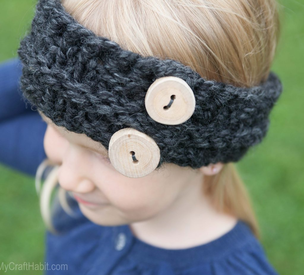 Free Knitting Patterns For Teens Childs Easy Free Knitted Headband Pattern Sustain My Craft Habit