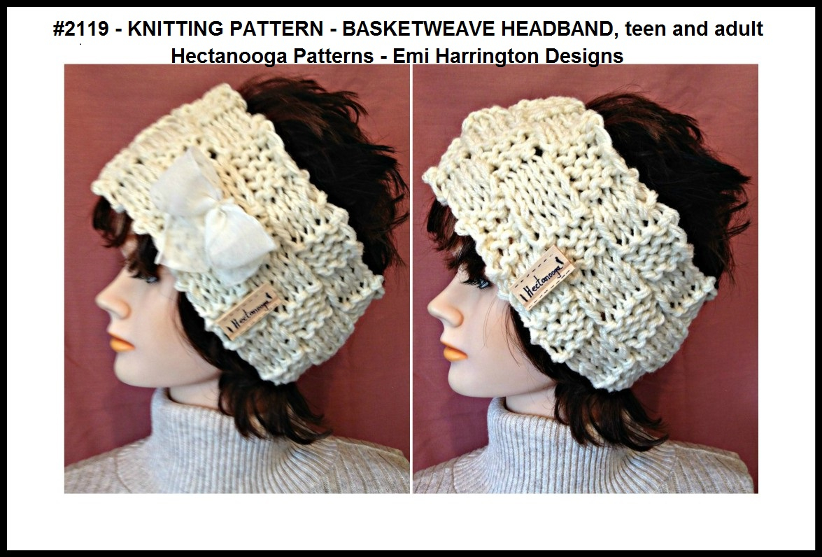 Free Knitting Patterns For Teens Hectanooga Patterns 2119 Free Knitting Pattern Basketweave