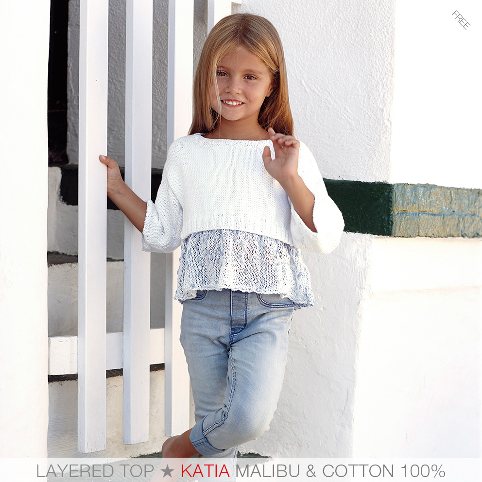 Free Knitting Patterns For Teens These Are The 7 Easiest Knit Patterns For Girls From Katia Kids 81