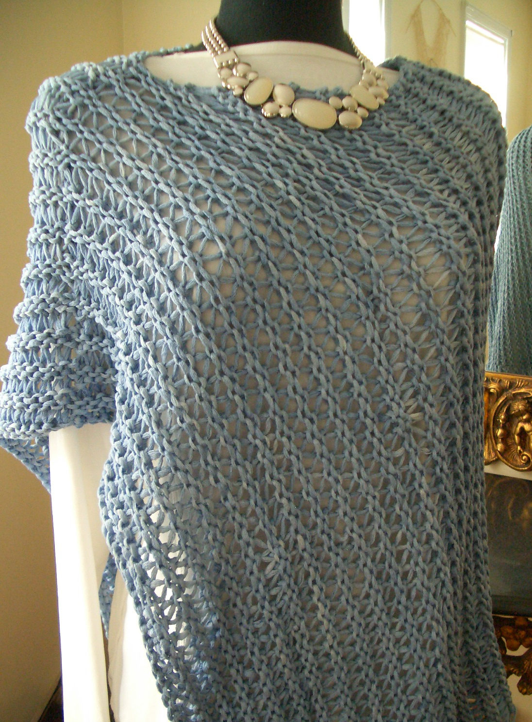 Free Knitting Patterns Poncho Easy Poncho Knitting Patterns In The Loop Knitting