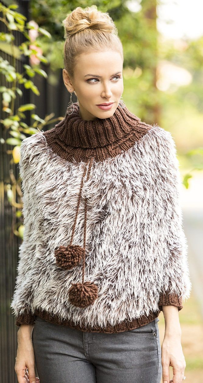 Free Knitting Patterns Poncho My Original Patterns Loves Many Cloths Crochet Patterns