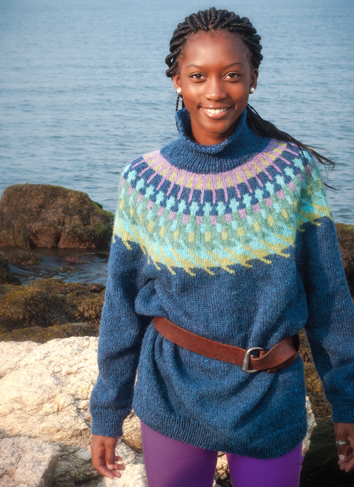 Free Lopi Knitting Patterns Knit A Lopi Sweater With Us Knitting And Crochet Techniques From