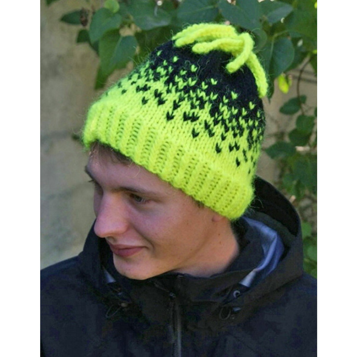 Free Lopi Knitting Patterns Little Knits Lopi Free Downloadable Pattern Neon Hat