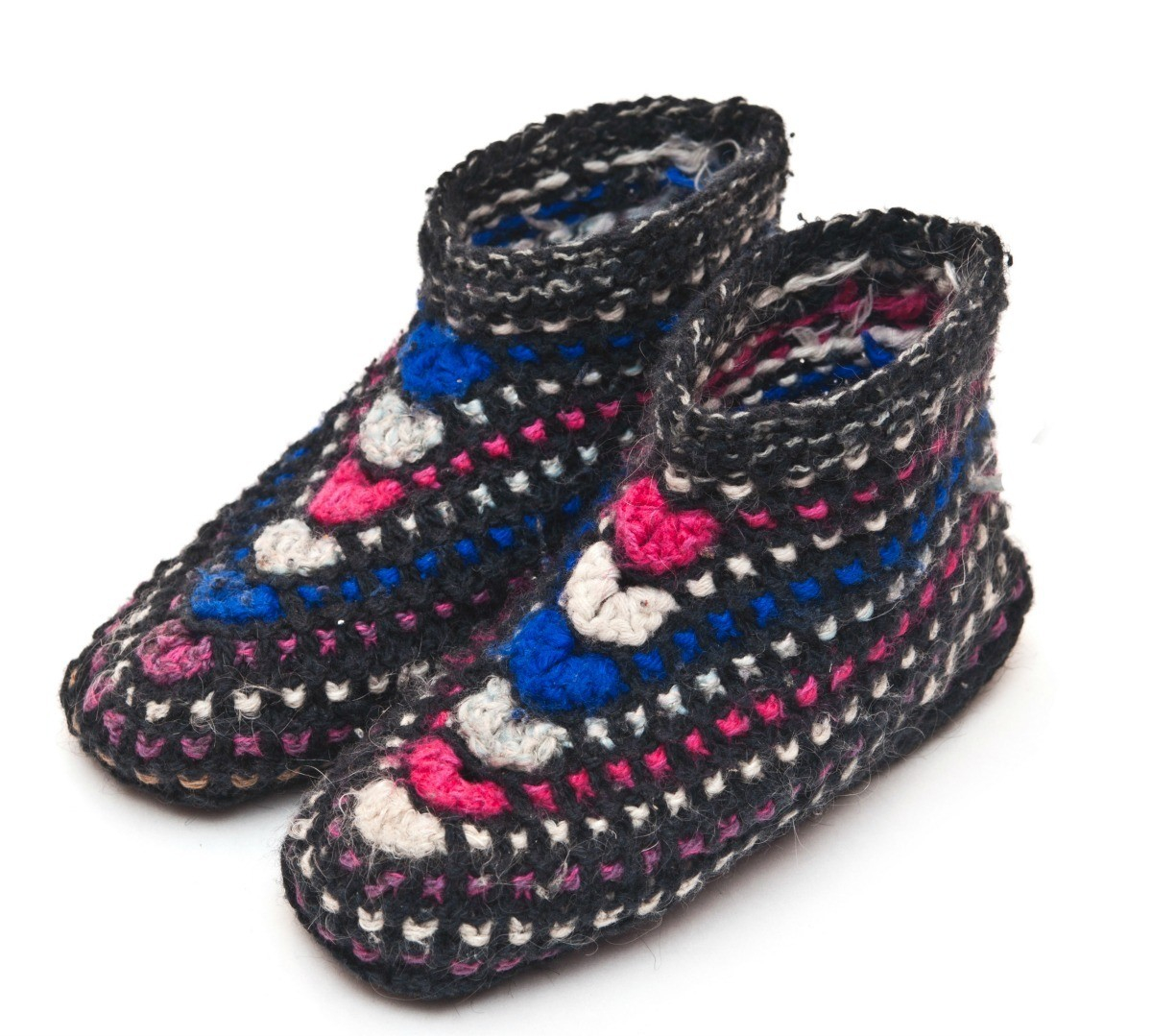 Free Patterns For Knitted Slippers Free Knitted Slipper Patterns Thriftyfun