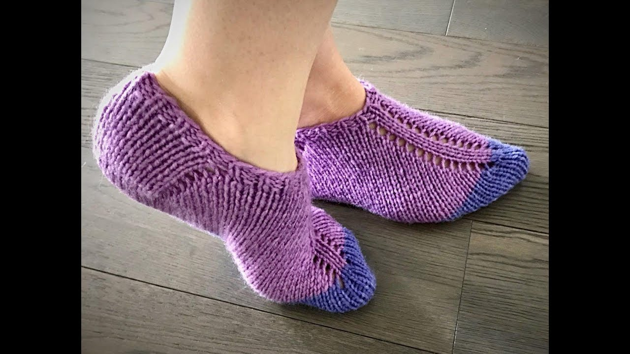 Free Patterns For Knitted Slippers Free Patterns Knitting Slippers