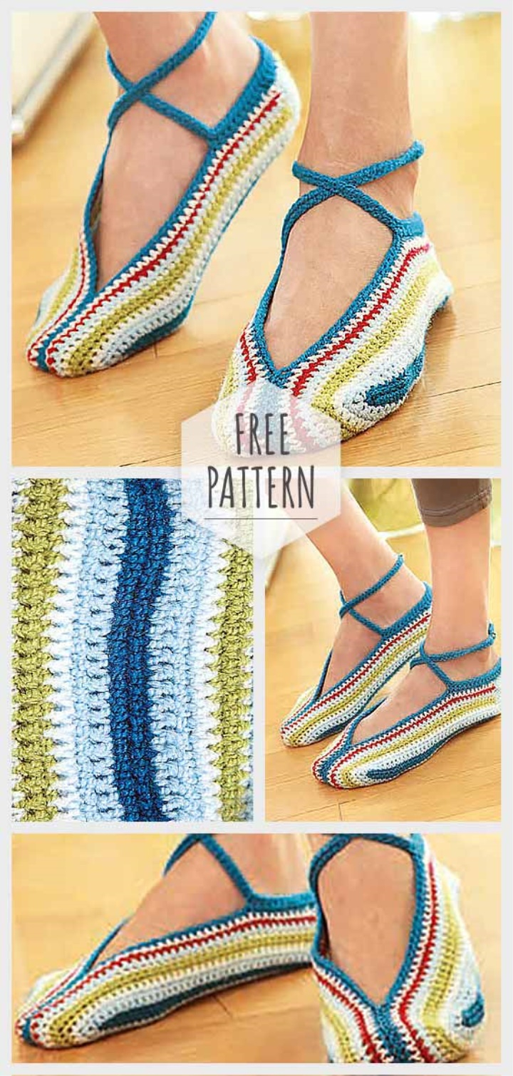 Free Patterns For Knitted Slippers Knitting Slippers Free Pattern