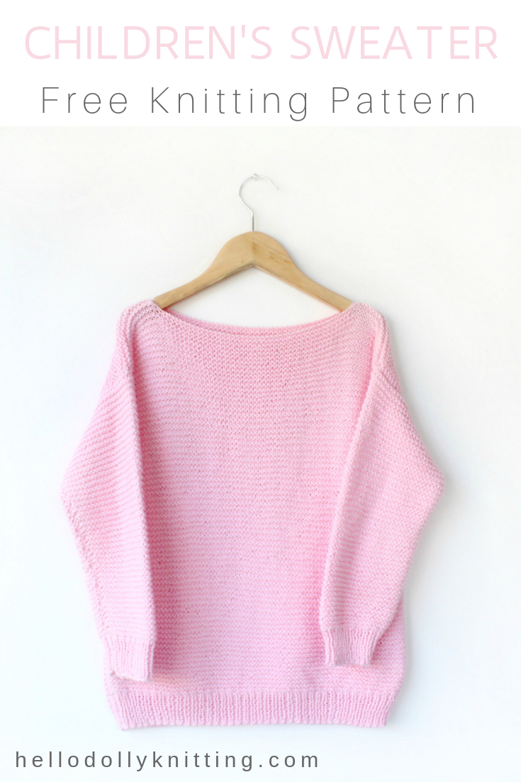 Free Sweater Patterns To Knit Free Knitting Patterns Hello Dolly Knitting