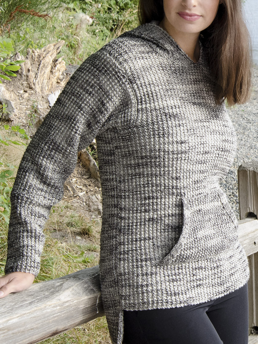 Free Sweater Patterns To Knit Hooded Sweater Knitting Patterns In The Loop Knitting
