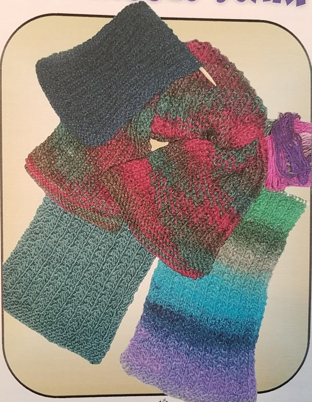 Hand Knit Scarf Pattern Easy Ribbed Scarf Hand Knitted Pattern Graywood Designs
