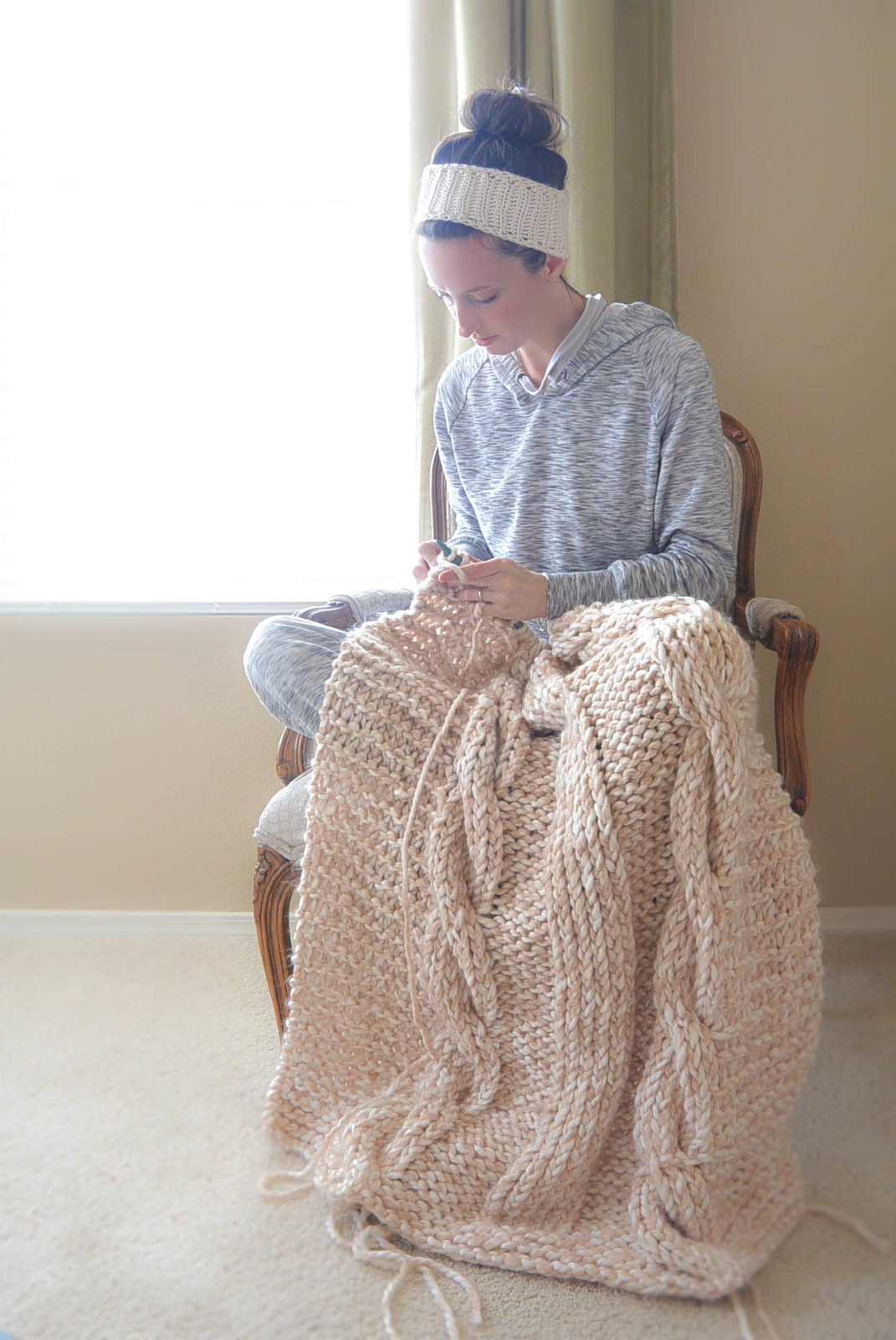 Hand Knitted Throw Patterns 16 Chunky Knit Blanket Patterns The Funky Stitch