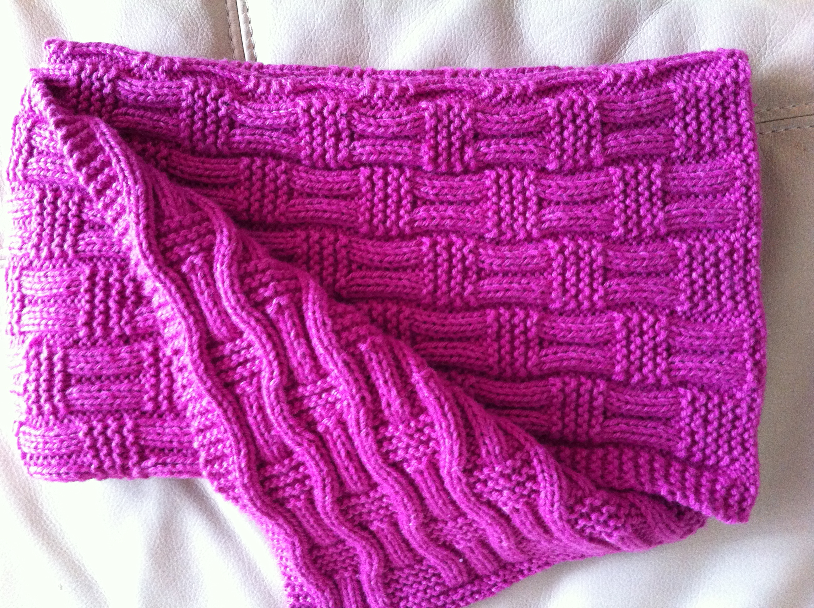 Hand Knitted Throw Patterns Knitting The Hankerer