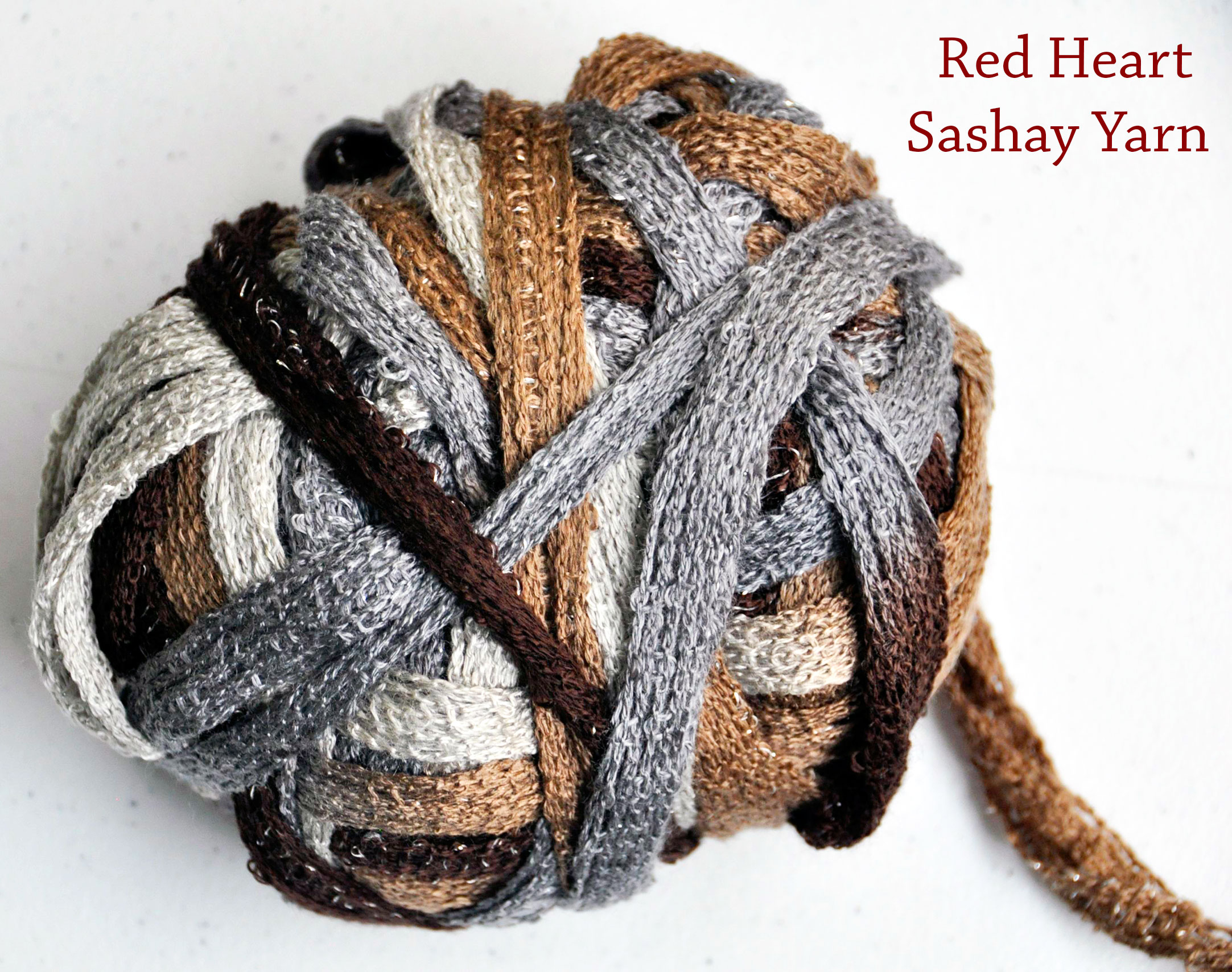 How To Knit A Ruffle Scarf Free Pattern How To Crochet A Ruffle Scarf With Red Heart Sashay Yarn