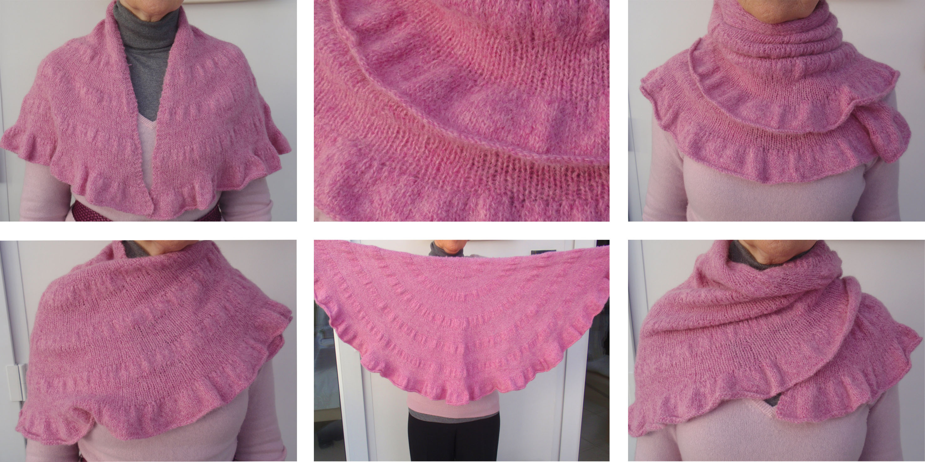 How To Knit A Ruffle Scarf Free Pattern Pampootie Scarf