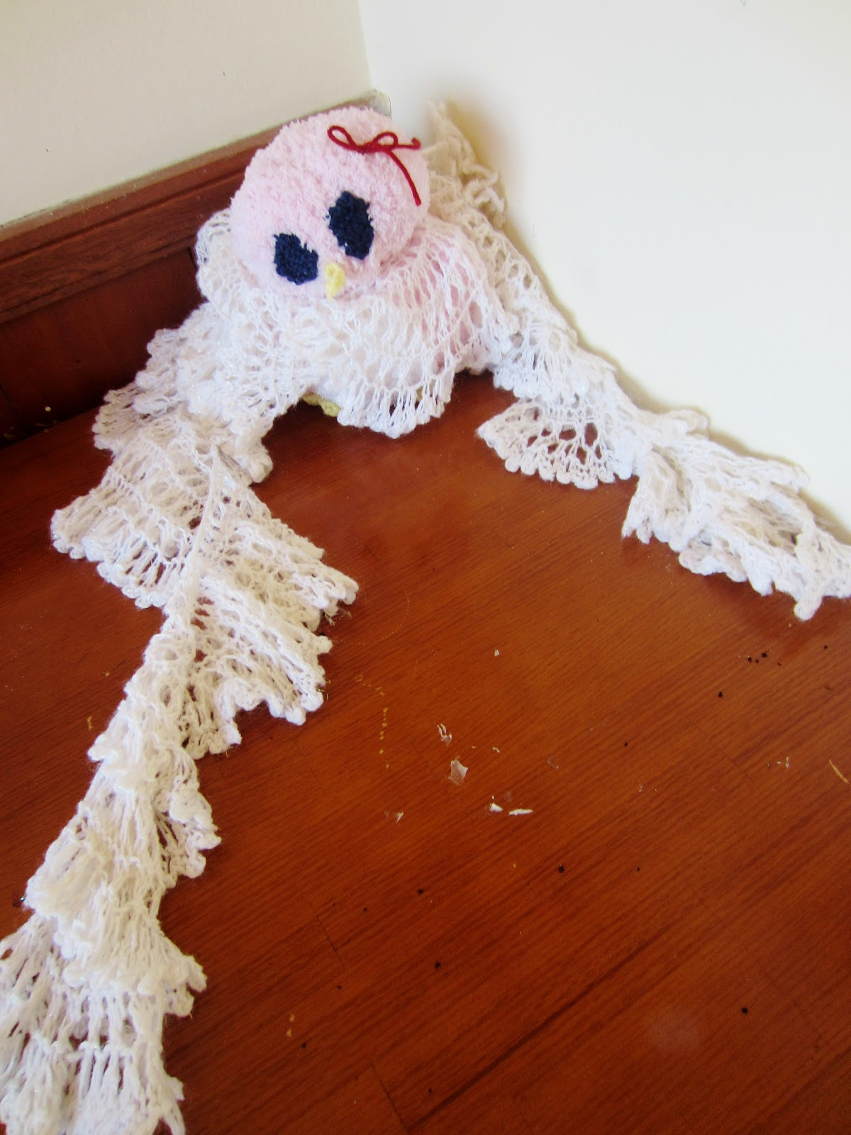 How To Knit A Ruffle Scarf Free Pattern Violets Silver Lining Free Knitting Pattern Ruffle Lace Snowflake