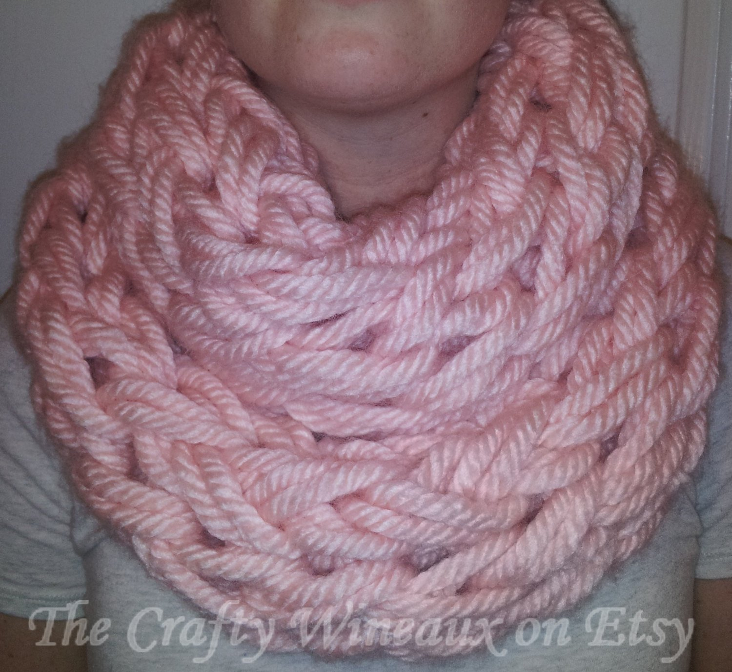 Infinity Scarf Knitting Pattern Chunky Free Free Shipping Choose Your Color The Erin Infinity A Chunky Wide Knit Double Wrap Infinity Scarf