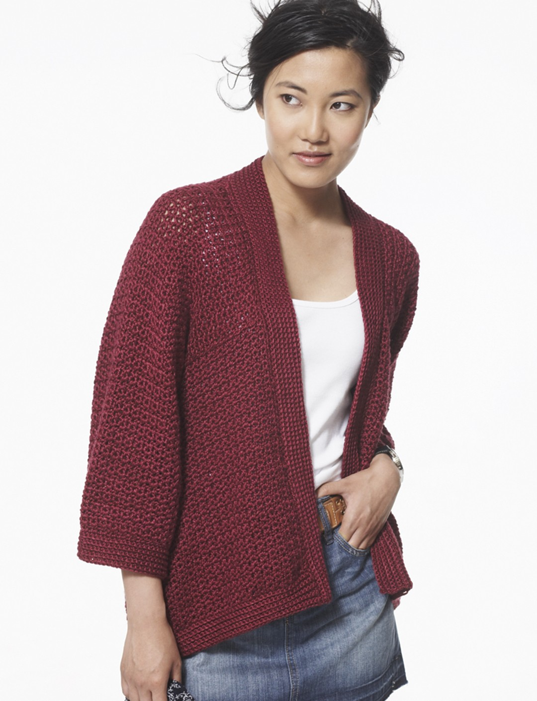 Kimono Sweater Knitting Pattern Crochet Cardigan Soft Drape Kimono Jacket Knqijfi Crochet And