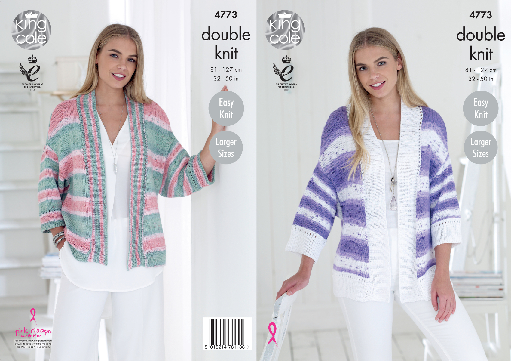 Kimono Sweater Knitting Pattern Details About King Cole Ladies Double Knitting Pattern Womens Easy Knit Kimono Cardigans 4773