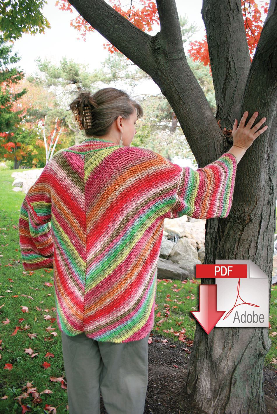 Kimono Sweater Knitting Pattern Diagonal Kimono Noro Taiyo Pattern Download Knitting Pattern Free With Yarn Purchase