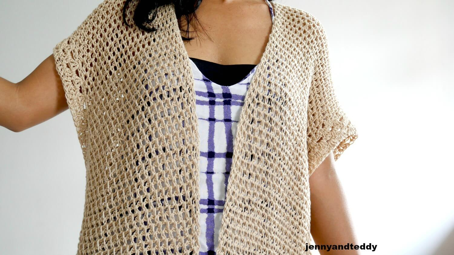 Kimono Sweater Knitting Pattern The Vacation Kimono Cardigan Free Crochet Pattern