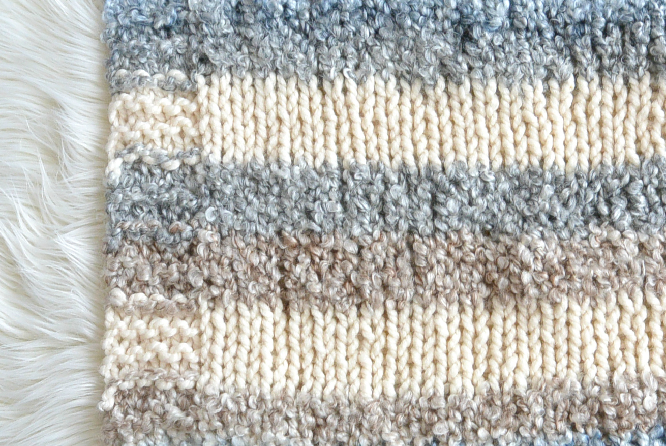 Knit Afghan Patterns Free Cuddly Quick Knit Throw Blanket Pattern Mama In A Stitch