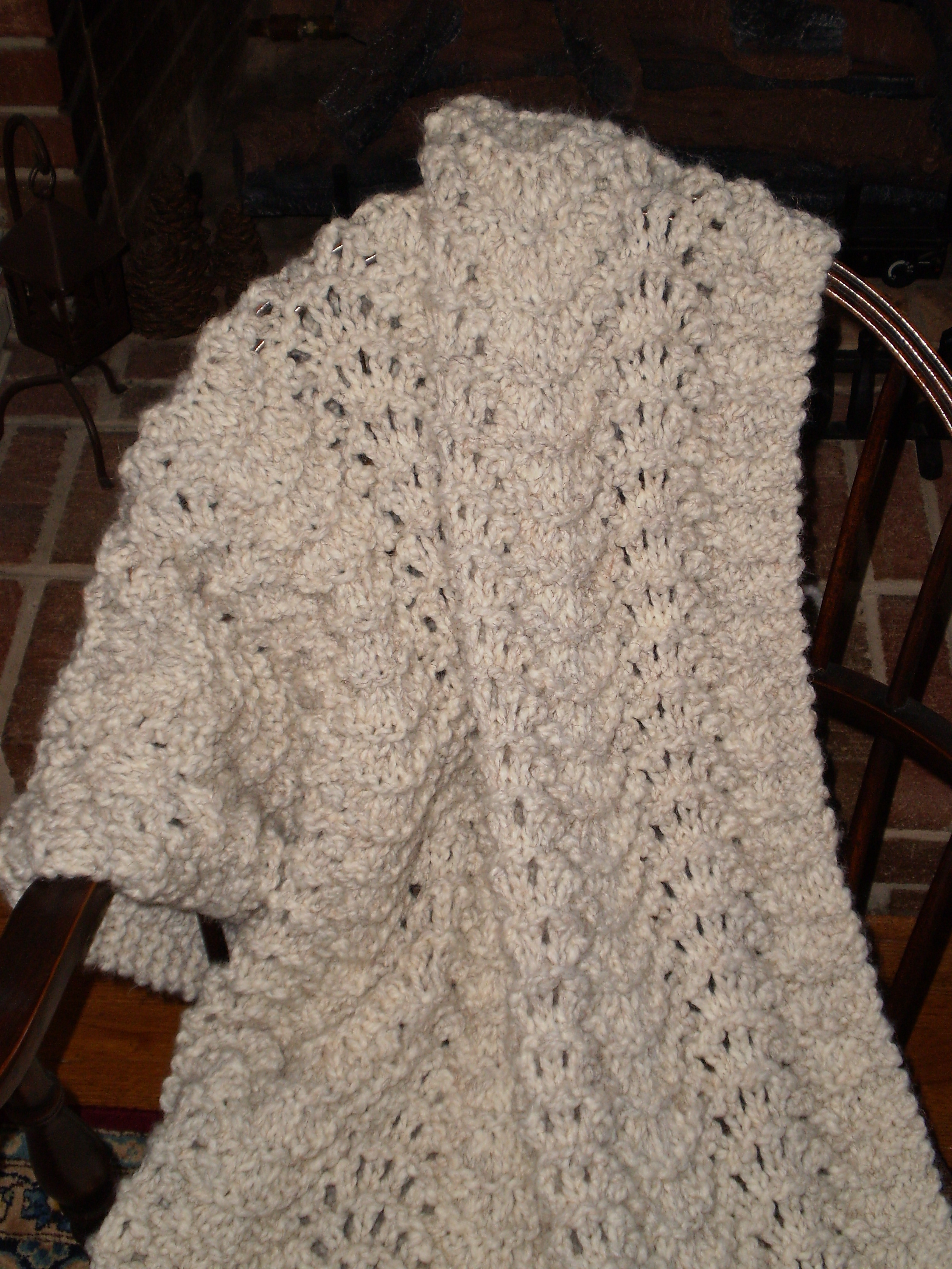 Knit Afghan Patterns Free Easy Blanket Knitting Patterns Fast