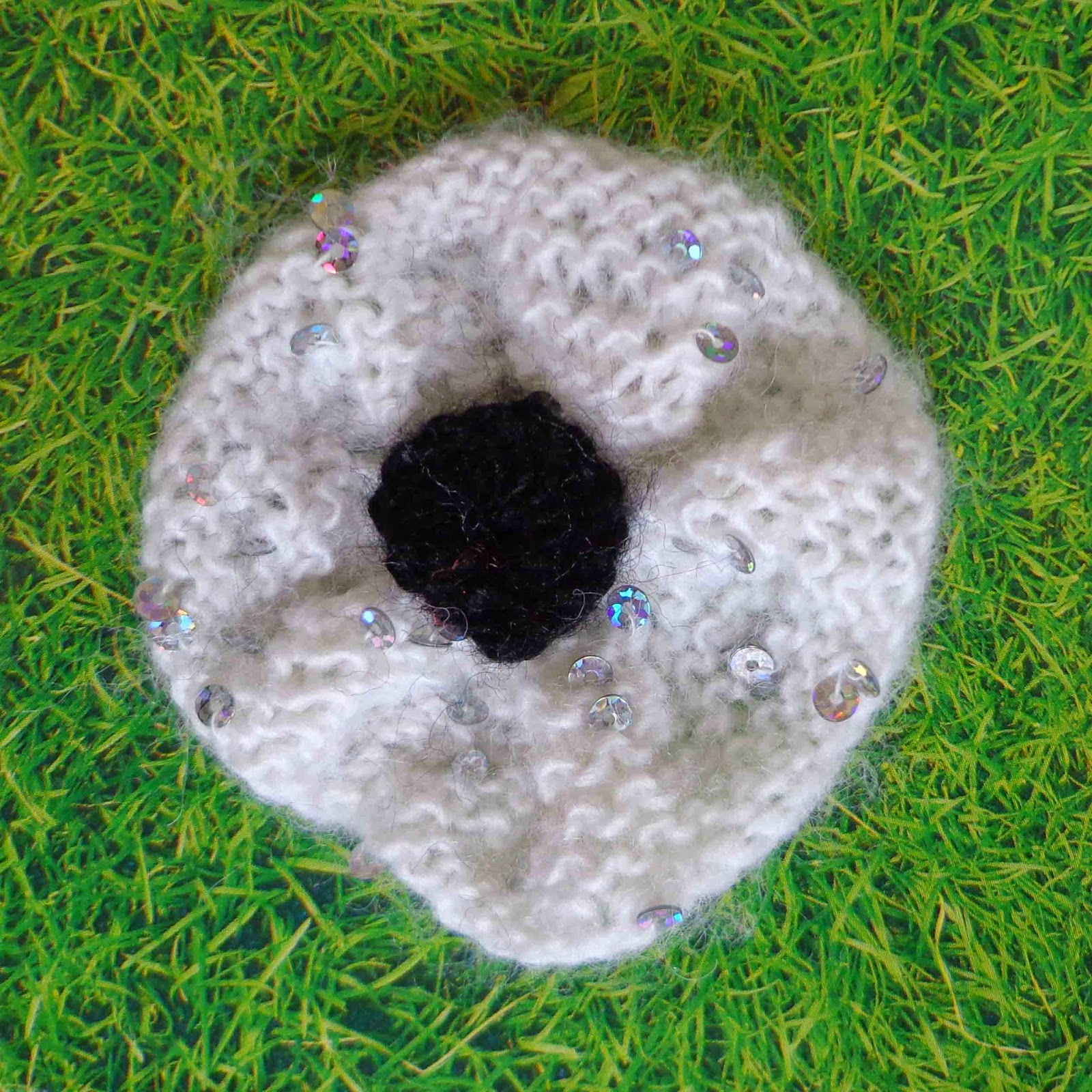 Knit Circle Pattern Hippystitch Round Rib Or Knit Poppy Pattern