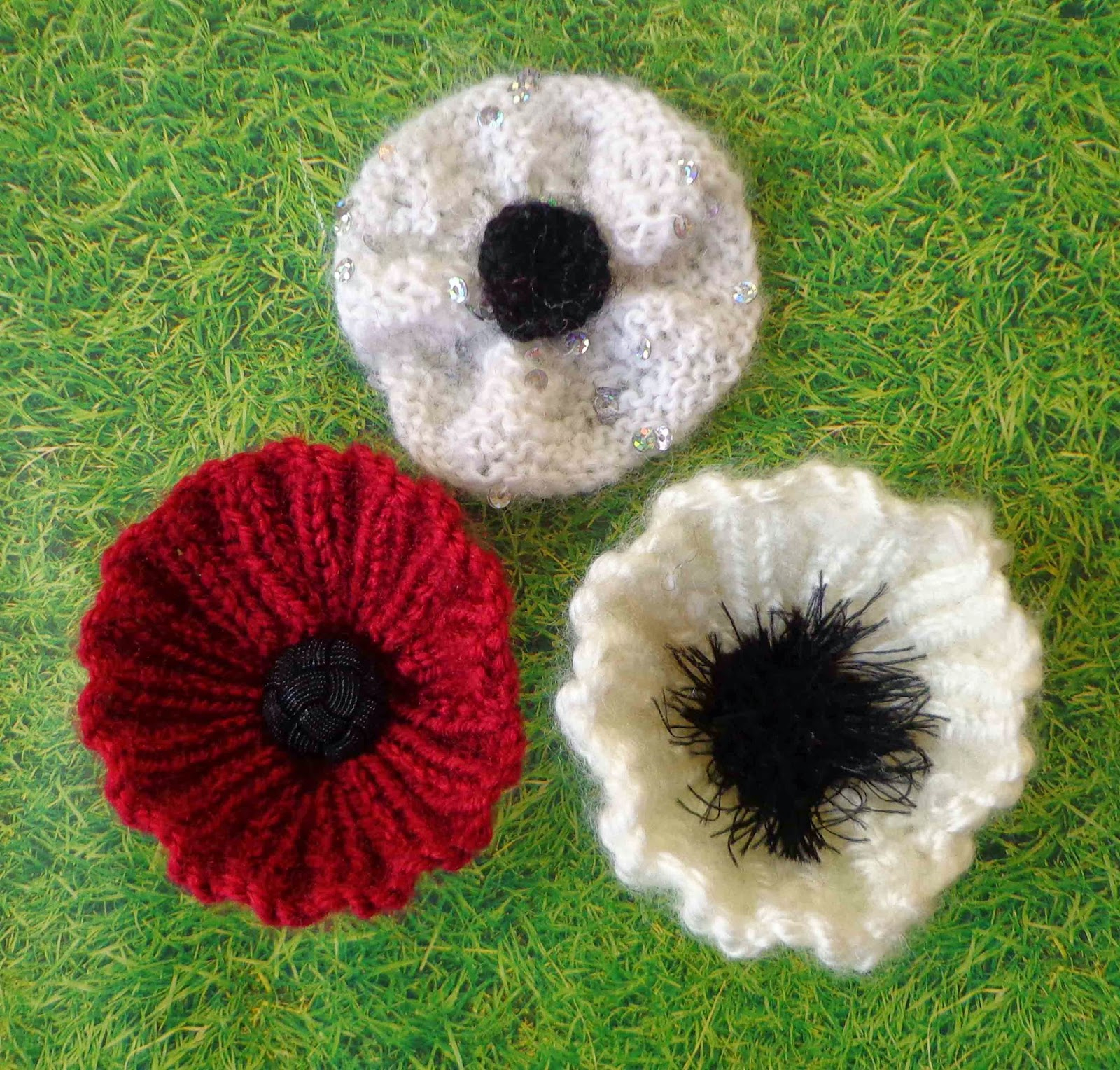 Knit Circle Pattern White Poppies Needed Calling All Knitters And Crocheters Quaker