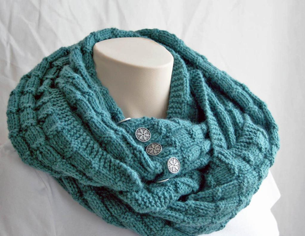 Knit Cowl Scarf Pattern 7 Free Infinity Scarf Patterns Available On Craftsy
