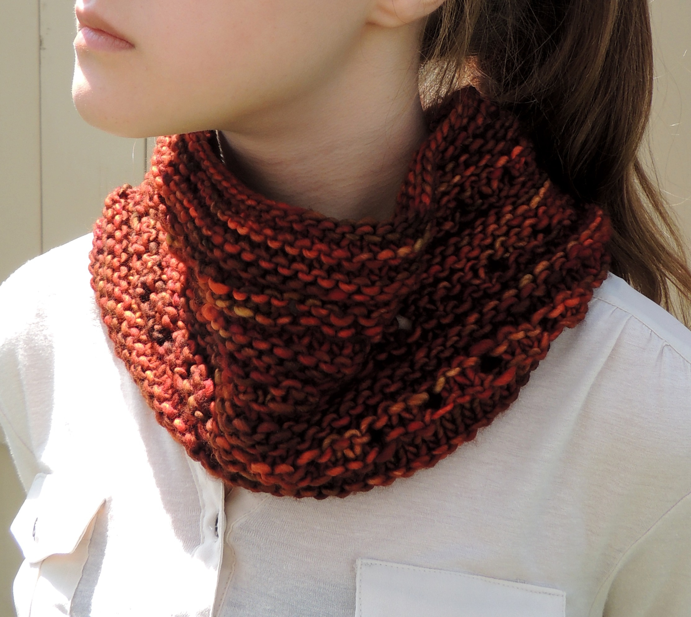 Knit Cowl Scarf Pattern Free Pattern Rachelle Chunky Lace Cowl Scarf Valerie Baber Designs