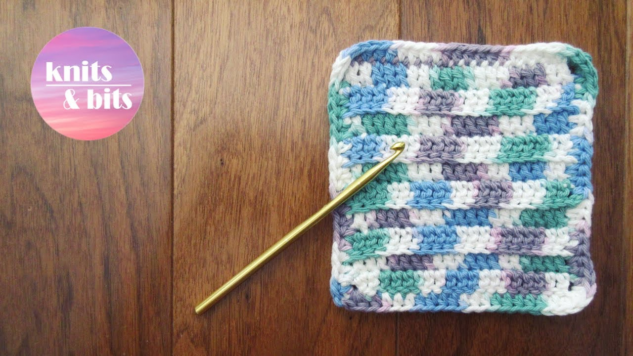 Knit Dishcloth Patterns For Beginners Crochet A Cute Dishcloth Quick And Easy Tutorial