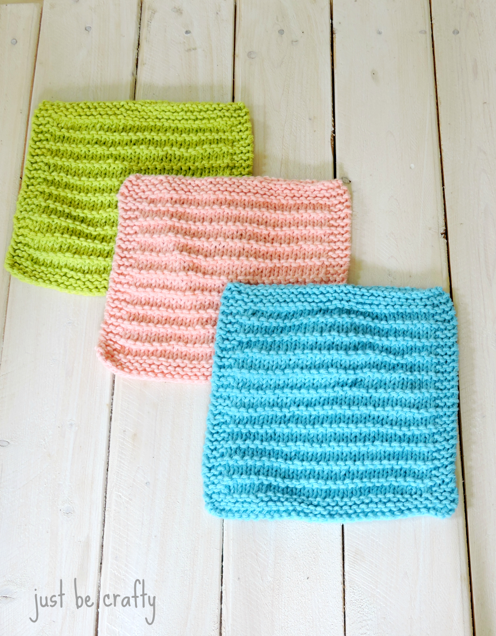 Knit Dishcloth Patterns For Beginners Farmhouse Kitchen Knitted Dishcloths Just Be Crafty