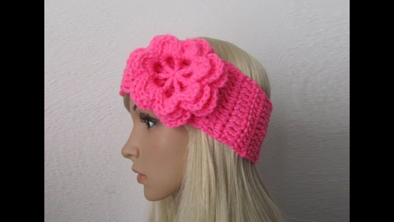 Knit Headband Pattern With Flower 8 Knitted Headband With Flower Patterns The Funky Stitch