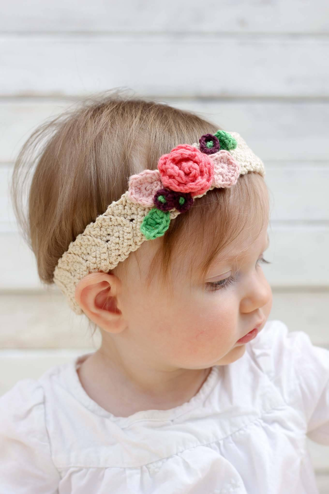 Knit Headband Pattern With Flower Free Crochet Headband Pattern With Flower Crochet And Knit