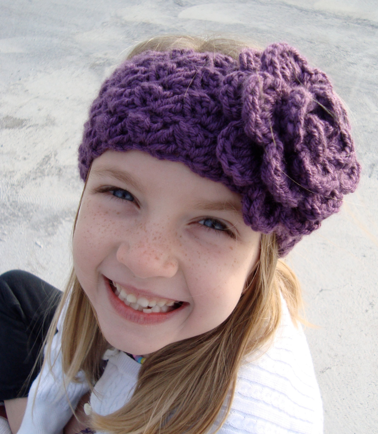 Knit Headband Pattern With Flower Girls Crochet Headbands For All Crochet And Knitting Patterns 2019