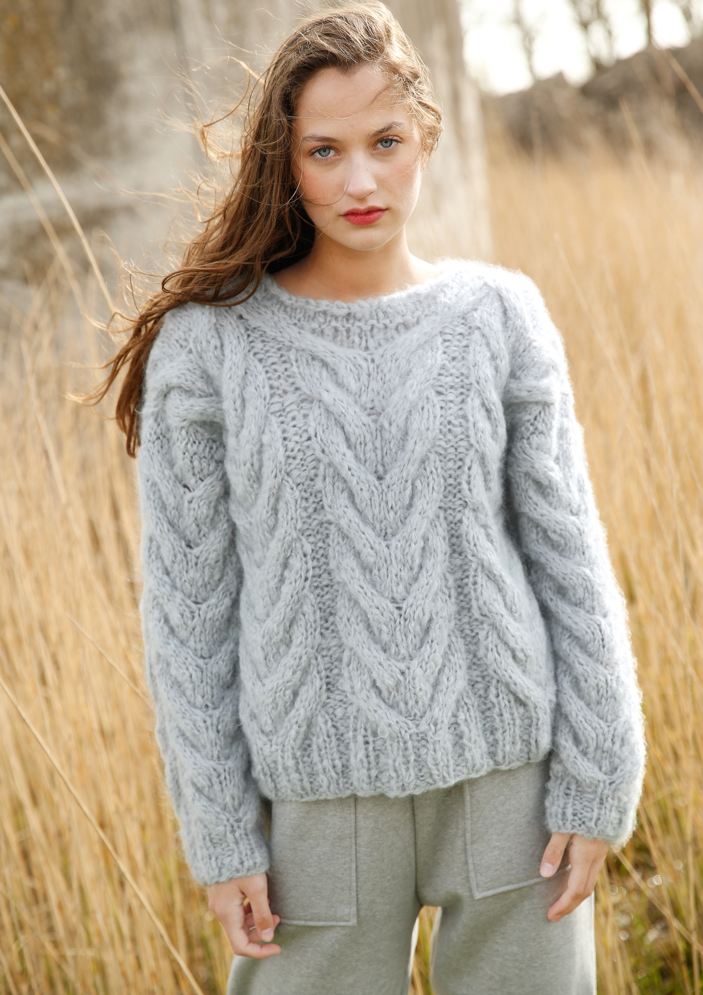 Knit Jumper Pattern Cable Knit Jumper Rebecca