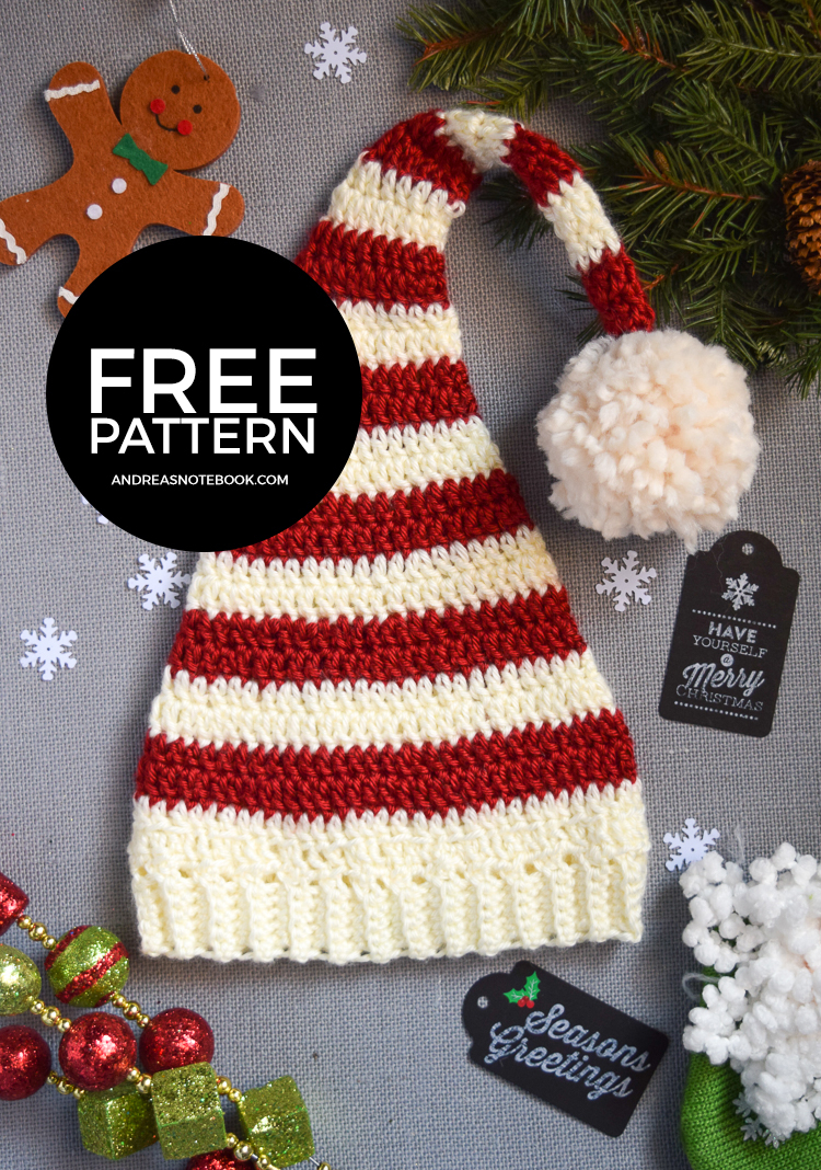 Knit Santa Hat Pattern Free Santa Hat Patterns Andreas Notebook