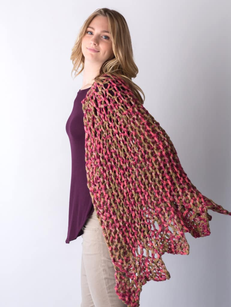 Knit Shawl Patterns Free 17 Easy Knitted Shawl Patterns Sizzle Stich