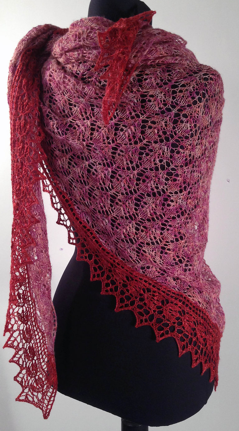 Knit Shawl Patterns Free Lace Shawl And Wrap Knitting Patterns In The Loop Knitting