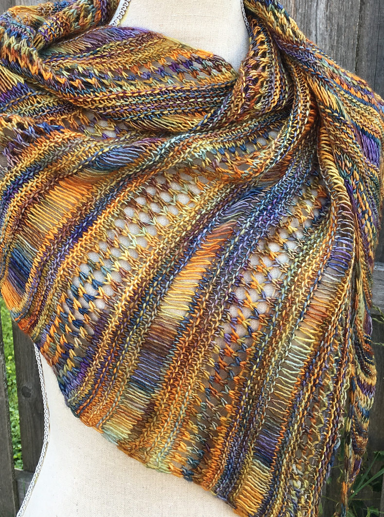 Knit Shawl Patterns Free One Skein Shawl Knitting Patterns In The Loop Knitting